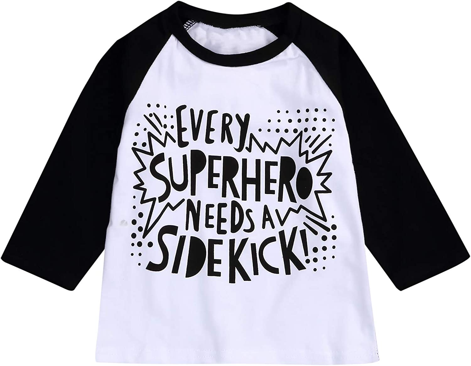 Baby Boy Sibling Shirts Romper Set Big Brother Long Sleeve T-Shirt /& Little Brother Onesies Bodysuit Matching Outfits