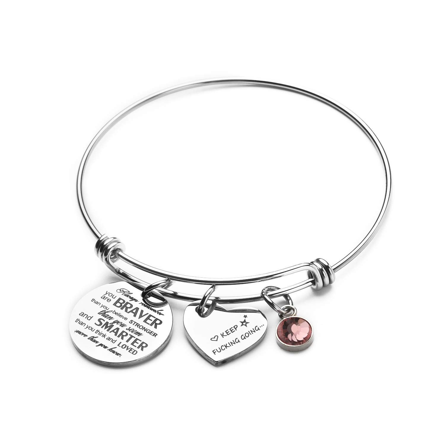 FEELMEM Dog Lover Gift Essential Oil Diffuser Bracelet Crystal Paw Print Charm Aromatherapy Locket Bracelet Engraving When I Needed A Hand I Found Your Paw