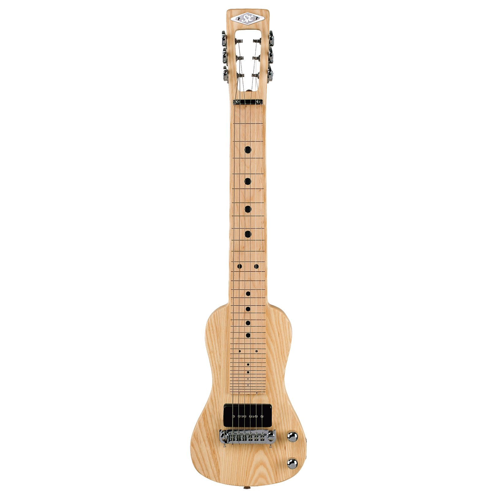SX Lap 2 Ash NA Electric Lap Steel Guitar