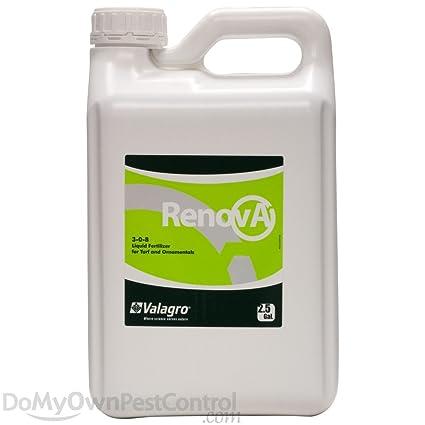 Amazon com : Renova (3-0-8) Liquid Fertilizer - 2 5 Gallons : Garden
