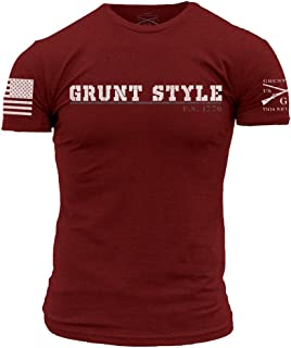 product image for Grunt Style Collegiate Tee Men's T-Shirt - Made in The USA