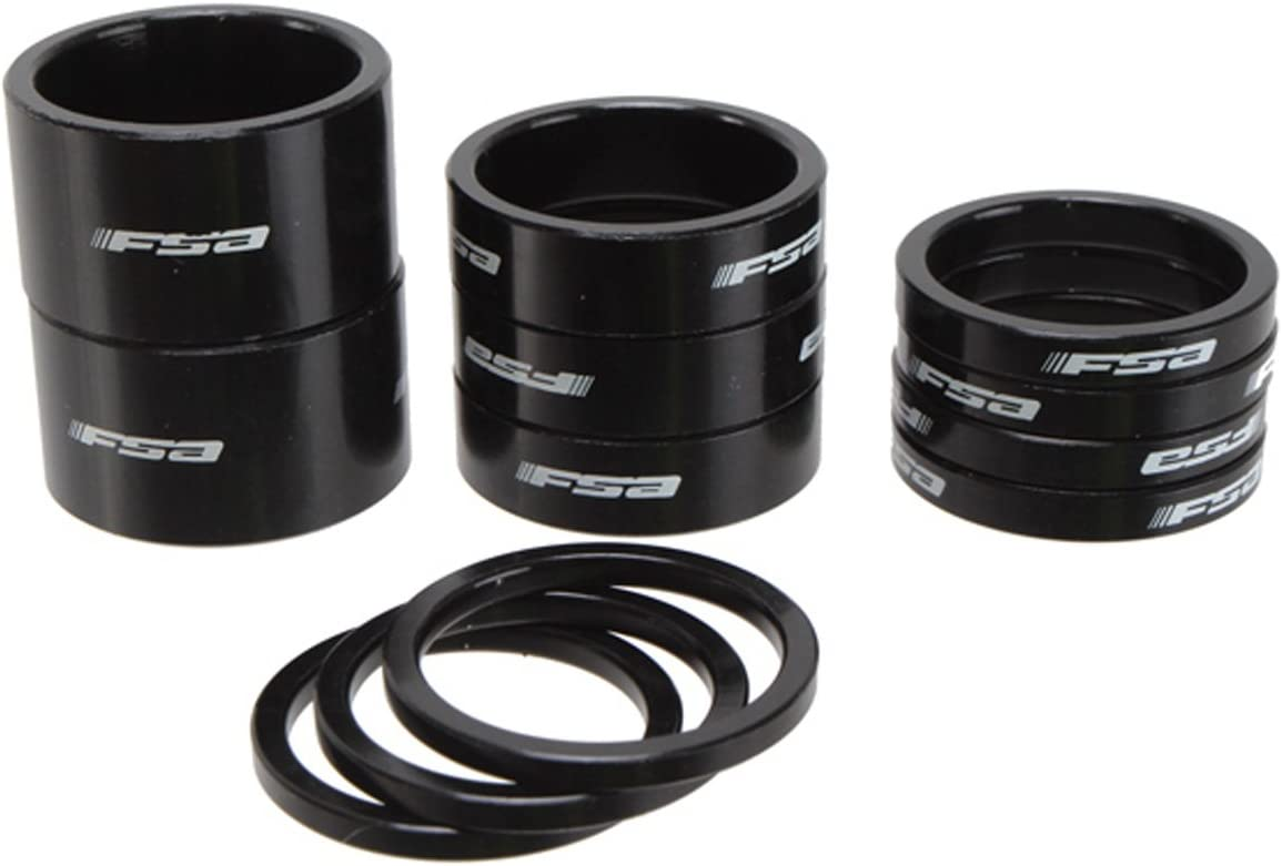 Full Speed Ahead FSA Logo Alloy Bicycle Headset Spacer Kit