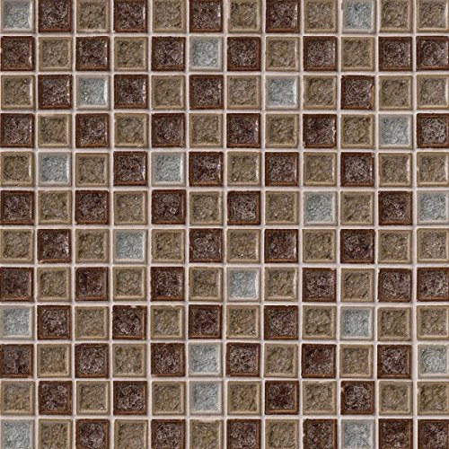 MS International SMOT-GLSGG-FC8MM Fossil Canyon Blend Mosaic Tiles, 1