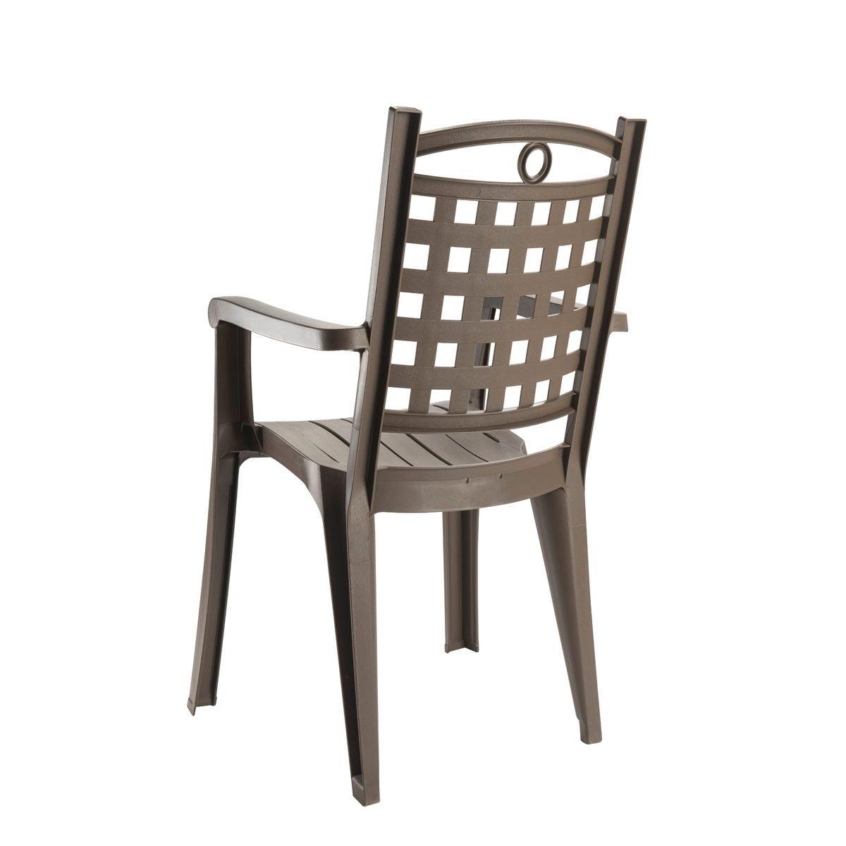 GROSFILLEX-Set de mesa y sillas de jardín, diseño de Amalfi ...