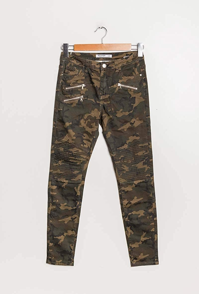 army camouflage Hose damen damenhose Haremshosen jeanshose jeans leggings print