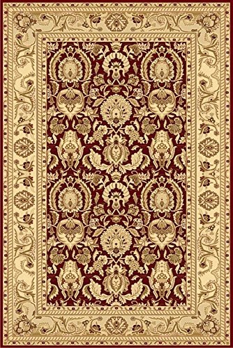 30 Ziggler Area Rug (LA Rug 8603/30 0508 Ziggler Collection 8603/30 Rug - 5 x 8 Ft)