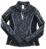 Victoria's Secret VSX Cold Weather Half Zip Jacket Large Black Gray