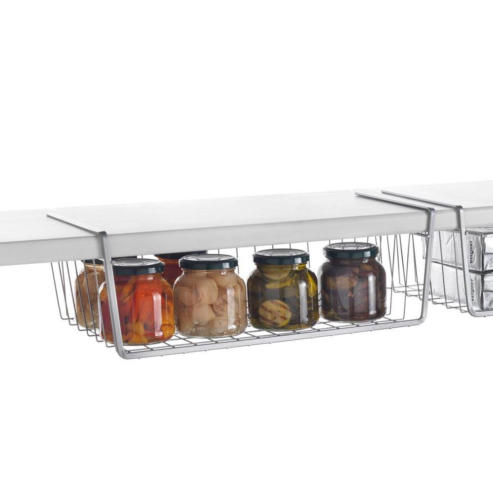 Metaltex BABATEX - Estante organizador intermedio de armario y cocina , 30 centímetros, blanco 36.38.30