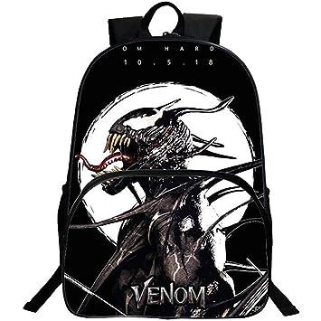 "16/"" Kids Boys Girls Venom School Shoulder Bag Children Backpack Rucksack New"