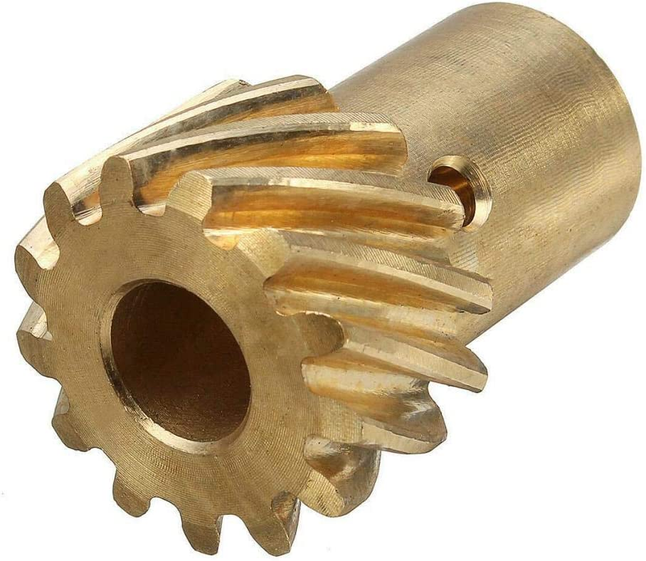 DishyKooker for S-B-C B-B-C Che-vy Roller Cam Bronze HEI Distributor Gear 0.491inches Shaft Small Big Block Functional