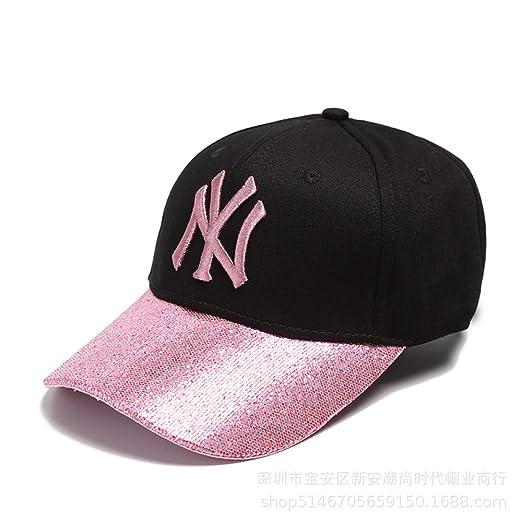 xiaochicun Sombrero Femenino Verano versión Coreana NY Gorras ...