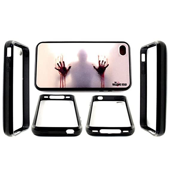 Amazon com: Walking Dead Iphone 4/4s Case (Walking Dead