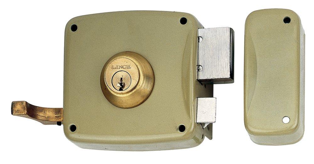 Lince 3017220 Cerradura 5125-ap//100 Derecha Oro