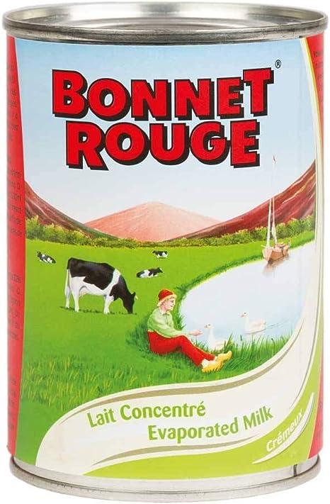 Leche Condensada Sin Azúcar Bonnet Rouge 410 g - (Juego de 2 ...