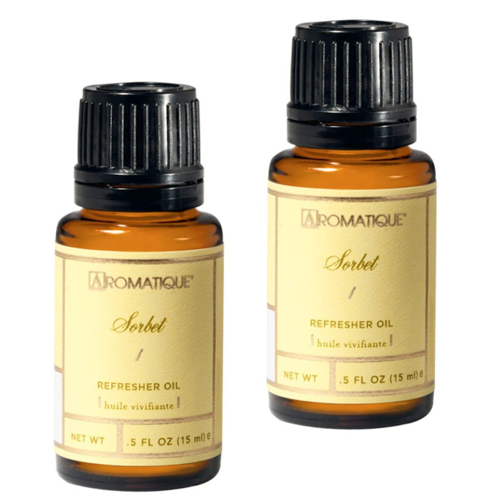 Aromatique Package of Two (2) .5 Ounce Refresher Oils - Sorbet