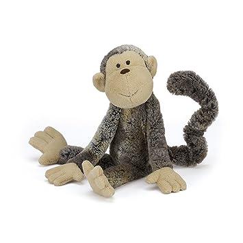 Jellycat-MATM4MK Mattie Monkey, Peluche, M (MATM4MK)