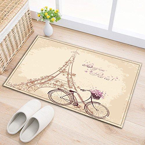 Amazon.com: LB Romantic French Paris Eiffel Tower Bicycle ...
