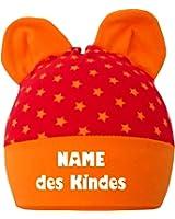 Kleiner Fratz Baby Kinder Mütze mit Ohren Jungen Mädchen Babymütze Hat mitwachsend mit Namen des Kindes