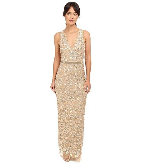 Nicole Miller Gold Dress