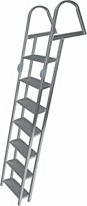 JIF Marine 7-Step Folding Dock Ladder
