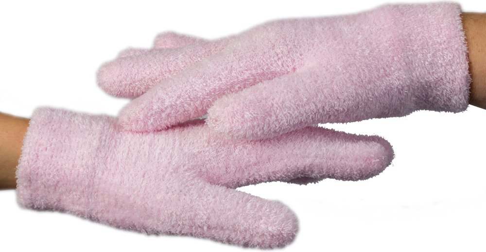 NatraCure Gel Moisturizing Gloves - (Lavender Scent) by NatraCure (Image #3)
