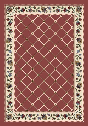 Milliken Rose Quartz Rose (Milliken Signature Collection Symphony Rectangle Area Rug, 7'8
