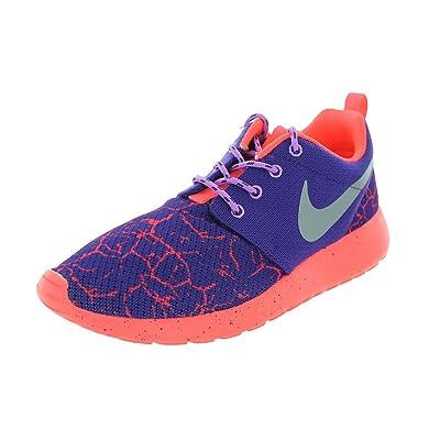 Nike Kids Roshe One Lava (GS) Crt Prpl/Mtllc Slvr/Ht Lv/Fchs Running Shoe
