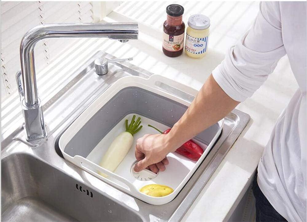 sur la stabilit/é de l/évier de Cuisine avec Base pour Debout HLONG /Évier Pliant sans BPA Passe au Lave-Vaisselle