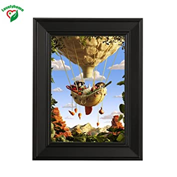 Amazon Small 4x6 Inch Picture Frame Wood Vintage Picture