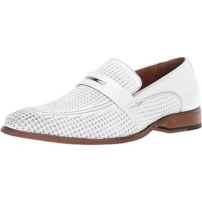 STACY ADAMS Men's Belvan Slip-on Penny Loafer   Loafers & Slip-Ons