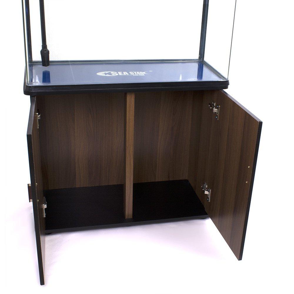 Acuario con mueble, bomba, filtro, luz LED, de 160 litros: Amazon.es: Productos para mascotas