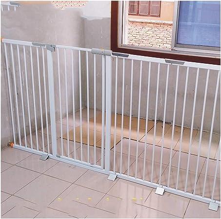 YONGYONG-Guardrail Valla Seguridad Barreras de Puerta La Seguridad del Bebé De Gates Escalera Extra Ancho Cerca Cerca del Bebé del Perro Casero Chimenea De Presión Cerca De Aislamiento De La: Amazon.es: Hogar