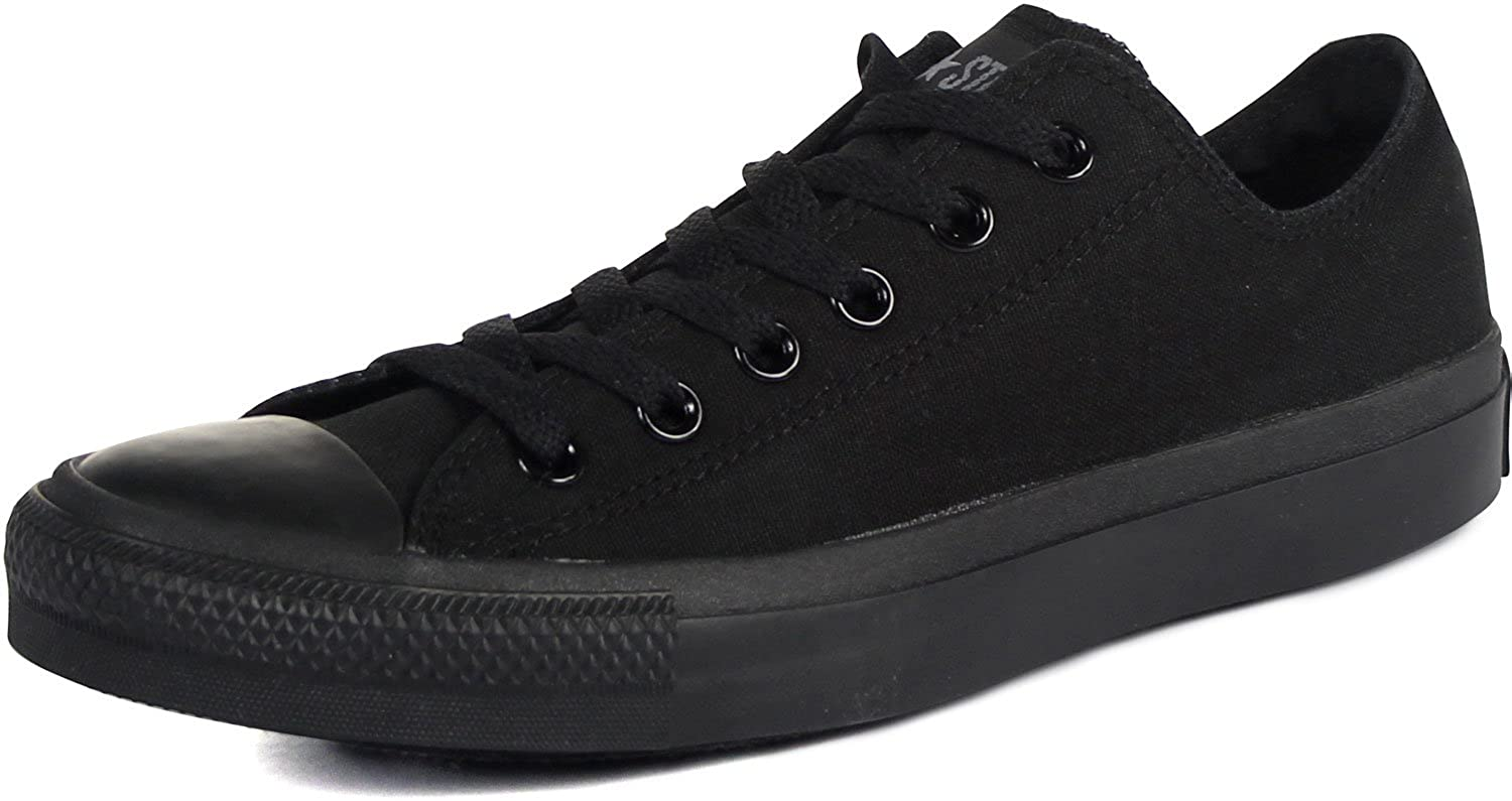 ec3d8808cd309 Converse Men's All Star Chuck Taylor Lo Top Oxfords Black Mono 7 B(M) US  Women / 5 D(M) US Men