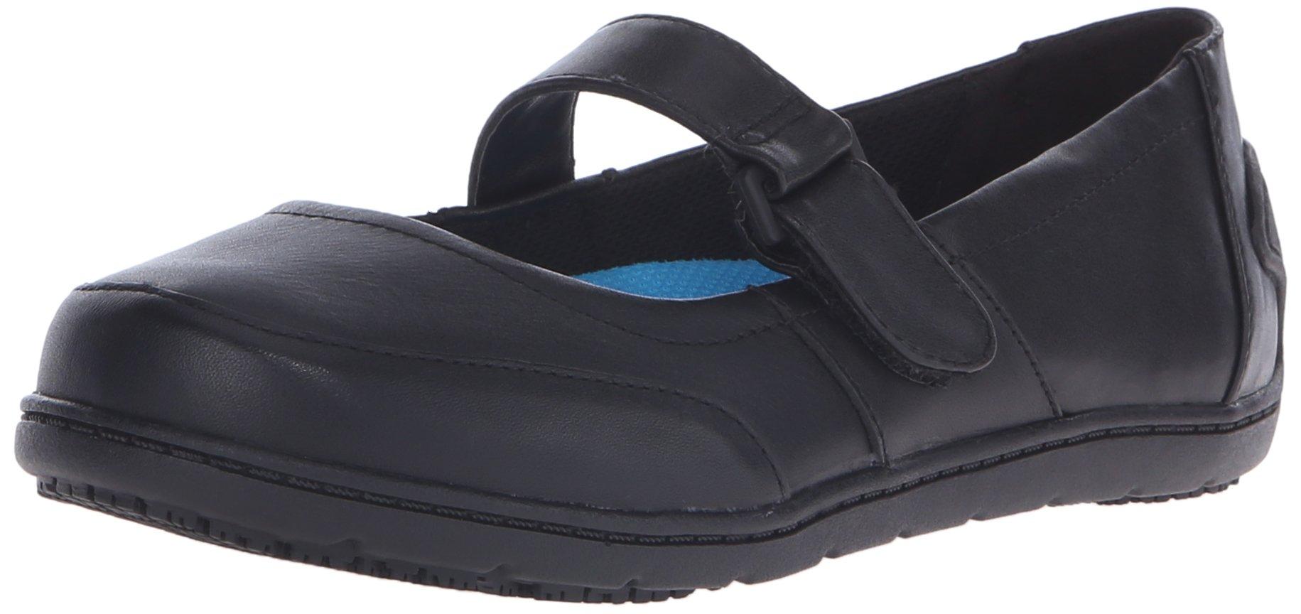 Dr. Scholl's Women's Hesper Slip-Resistant Mary Jane, Black, 7.5 M US