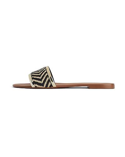 3631001 Sandales Femme Naturelles Plates Zara jqMpSGzVLU