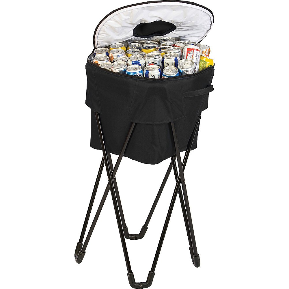 100 Patio Ice Bucket With Stand Small Table Built