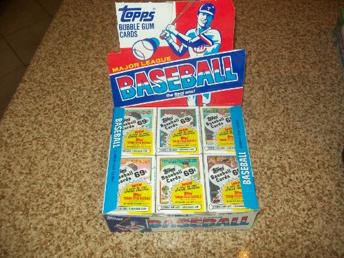 Topps Baseball Cello - TOPPS 1988 BASEBALL CELLO BOX 24 PACKS 28 CARDS PER PACK