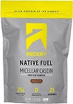 Ascent Native Fuel Micellar Casein Protein Powder - 2 Lbs -