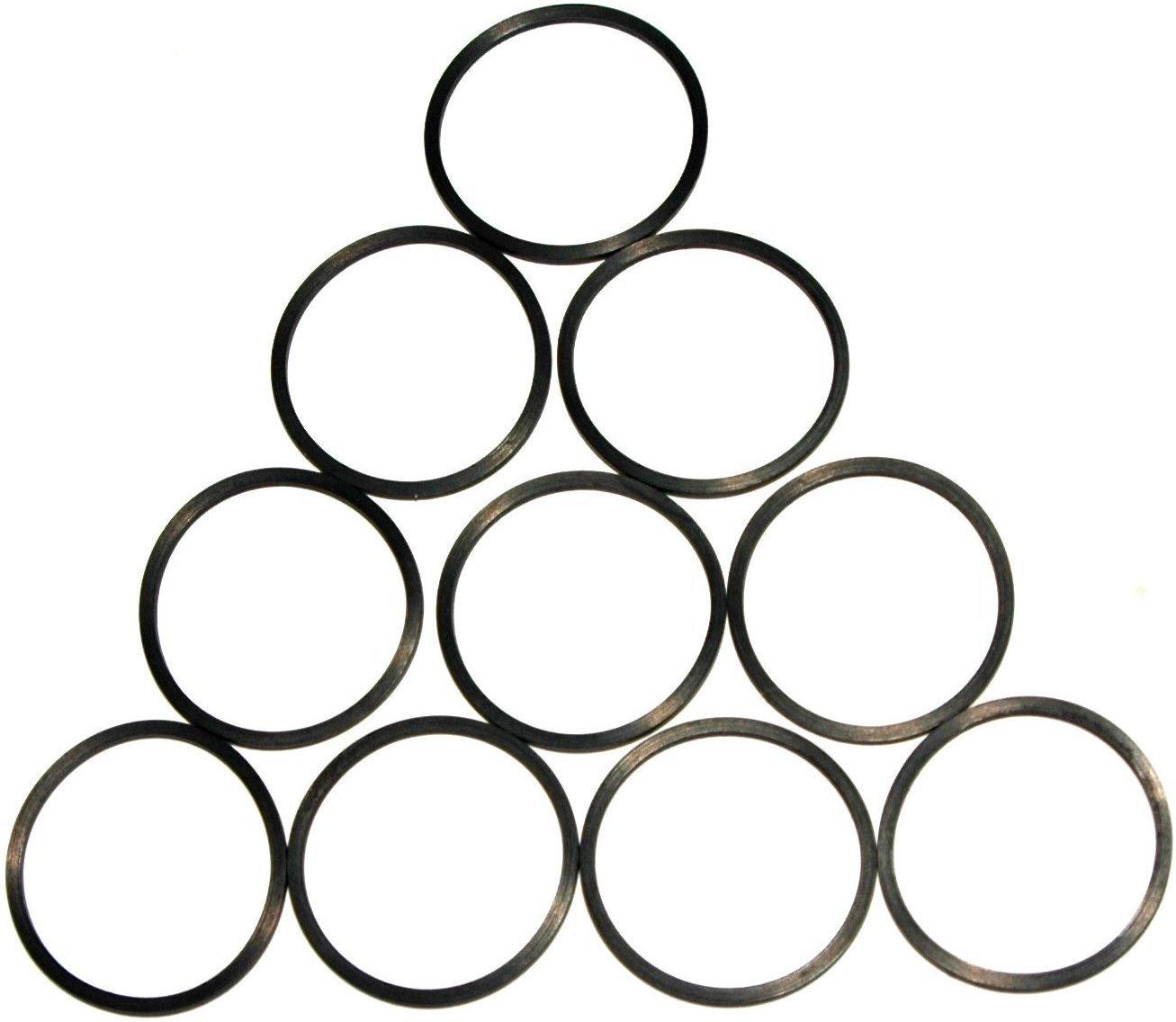 Pack de 10 pcs de goma anillo SBS cuadrado tipo disco motor cinturones óptico para Xbox 360 DVD Drive Replacement Repair Stuck bandeja: Amazon.es: ...