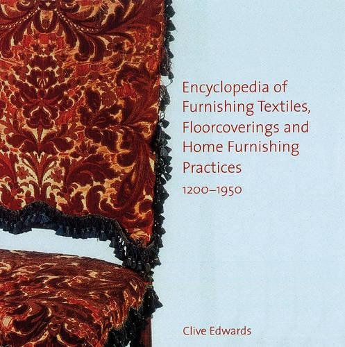 1200 Furniture (Encyclopedia of furnishing textiles, floorcoverings and home furnishing practices, 1200-1950)