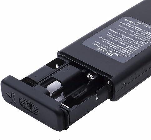 Pixel TD-382 - Batería para flash externo de Nikon SB-900 y SB-910, negro: Amazon.es: Electrónica