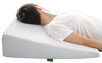 Amazon.com: Cushy Form - Almohada de cuña para cama con ...