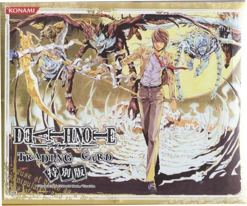 Konami Death Note (Death Note - Trading Card Special Edition Booster)