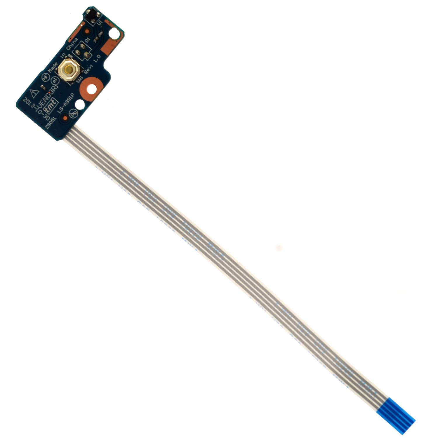 Power Button Board w//Cable For HP 15-g012dx 15-g013cl 15-g040ca 15-g041ca