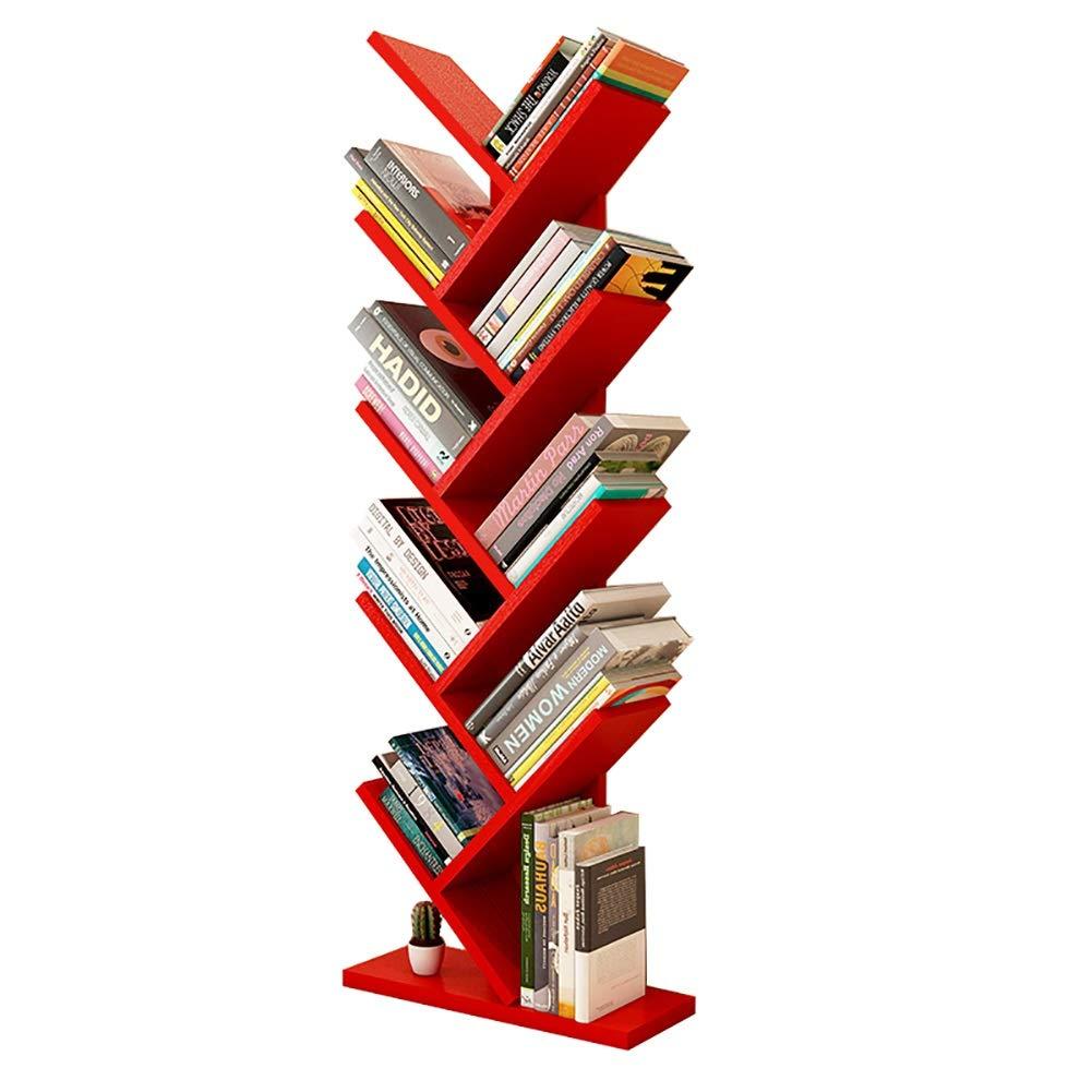 9階建ての本棚、フロアスタンド子供用本棚仕切り枠、40 x 20 x 132 cm B07RPD5LJ9