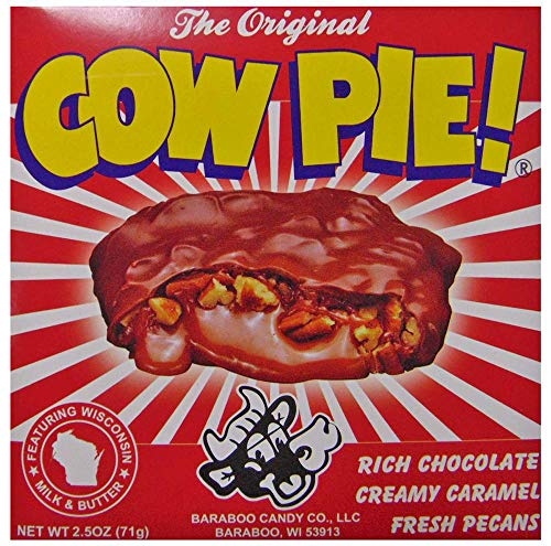 Baraboo Candy 2 Pack Original Cow Pie 71g