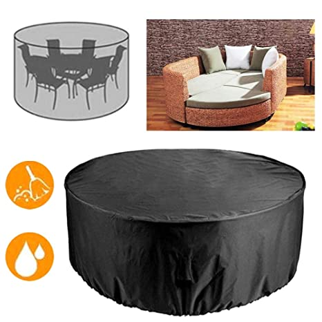 Miraculous Amazon Com Outdoor Garden Round Anti Dust Cover Yard Patio Gmtry Best Dining Table And Chair Ideas Images Gmtryco