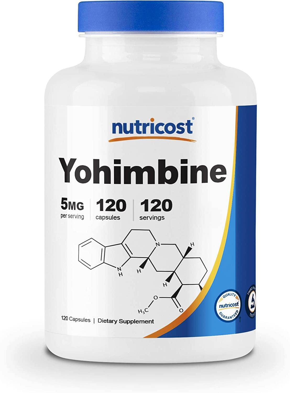 Nutricost Yohimbine HCl 5mg, 120 Capsules Extra Strength: Health & Personal Care