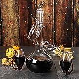 Port Sipper Set mit vier Sippers | Bar @ drinkstuff Port Gläser, Port Sipper Set, portwein, Port Dekanter, Likör Dekanter | handgefertigt Glas Port Dekanter