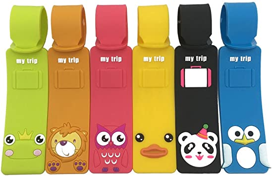 Luggage Tags Christmas Owl Travel Accessories Baggage Name Tags